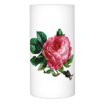 Cabbage Rose Flameless Candle