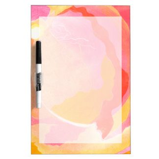 Cabbage Rose III Dry Erase Board