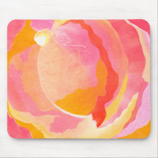 Cabbage Rose III Mouse Pad