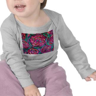 CABBAGE ROSE infant long sleeve t-shirt
