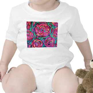 CABBAGE ROSE Infant Onsie Shirts