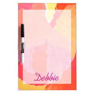 Cabbage Rose IV Dry-Erase Board