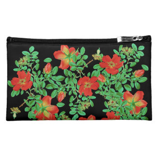 Cabbage Rose Rosebud Flowers Floral Vintage Bag