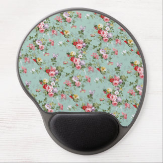 Cabbage Roses and Lilacs Old-Fashioned Gel Mouse Pad