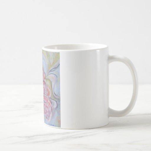 Cabbage Roses Coffee Mug