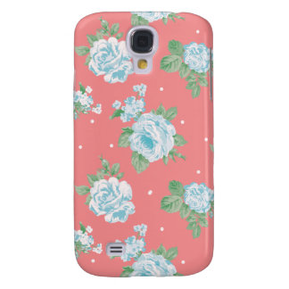 Cabbage Roses Samsung Galaxy S4 Case