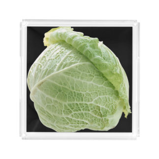 Cabbage Small Perfume Tray Square Serving Trays