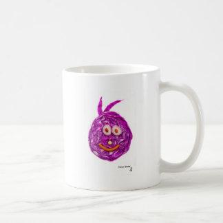 Cabbage Smiley Face Coffee Mug