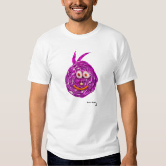 Cabbage Smiley Face Tee Shirt