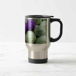 Cabbage travel mug