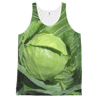 Cabbage Urban Gardener Tank Top All-Over Print Tank Top