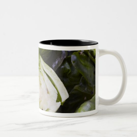 Cabbage, Vegetable, Food, Food And Drink, Two-Tone Coffee Mug