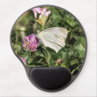 Cabbage White Gel Mouse Pad