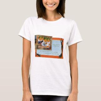 Cabbagehead Barn Black Cat T-Shirt