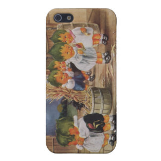 Cabbagehead Barn Cornstalk Full Moon Case For iPhone SE/5/5s