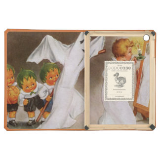 Cabbagehead Ghost Child Jack O Lantern iPad Air Cover