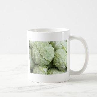cabbages pattern coffee mug