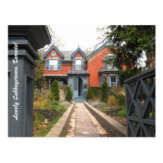 Cabbagetown postal del turismo de Toronto
