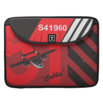 Cabbie Character Art MacBook Pro Sleeve