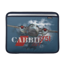 Cabbie Graphic Sleeve For MacBook Air