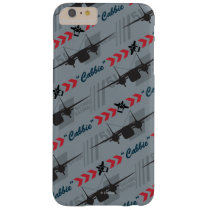 Cabbie Silhouette Pattern Barely There iPhone 6 Plus Case