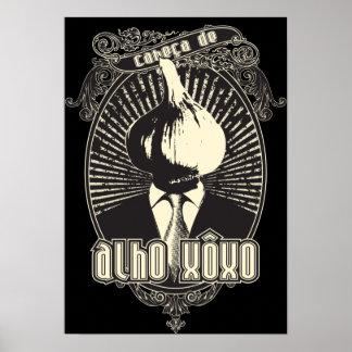 Cabeça de Alho Xôxo Posters