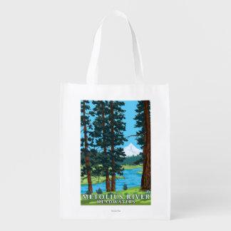 Cabeceras del río de Metolius, Oregon Bolsas Para La Compra