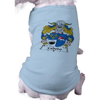 Cabedo Family Crest Dog Clothing