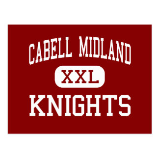Cabell Midland - Knights - High - Ona Postcard