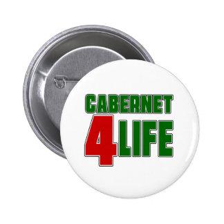 CABERNET 4 Life 2 Inch Round Button