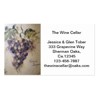 Cabernet Business/Personal Card Business Card Templates
