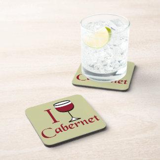Cabernet Wine Drinker Beverage Coaster