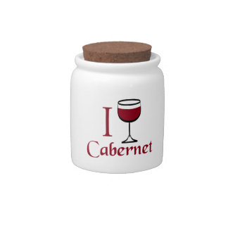 Cabernet Wine Drinker Candy Dish
