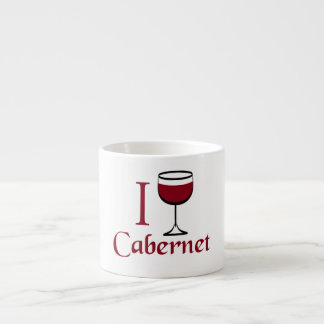 Cabernet Wine Drinker Espresso Cup