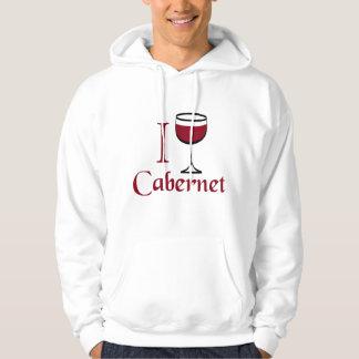 Cabernet Wine Drinker Hoodie