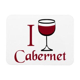 Cabernet Wine Drinker Magnet