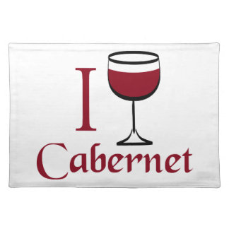 Cabernet Wine Drinker Placemats