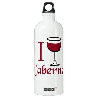 Cabernet Wine Drinker Water Bottle