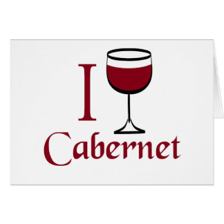 Cabernet Wine Lover Gifts Card