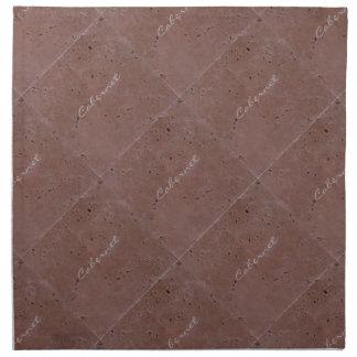 Cabernet Wine Travertine Tile Cloth Napkin