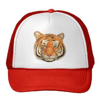 Cabeza 2 del tigre gorros