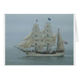 Cabeza alta 071 del gancho de las naves tarjeton