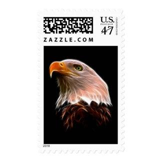 Cabeza americana de Eagle calvo Sello Postal