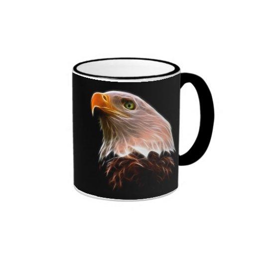 Cabeza americana de Eagle calvo Taza De Dos Colores