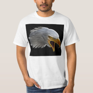 Cabeza americana de griterío de Eagle calvo Playeras
