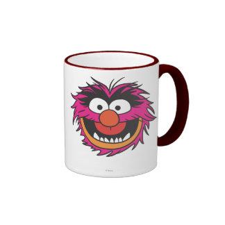 Cabeza animal taza de café
