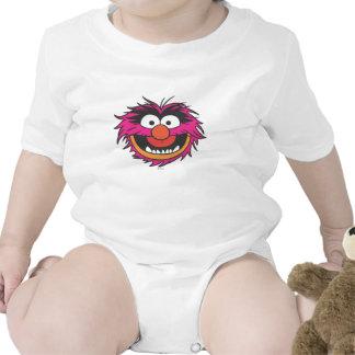 Cabeza animal trajes de bebé