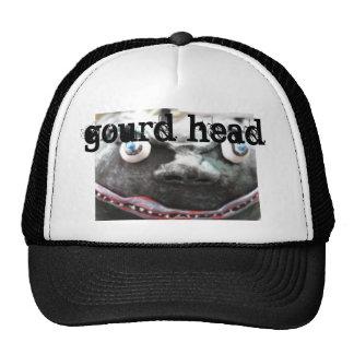 cabeza asustadiza de la calabaza gorra