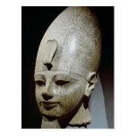 Cabeza colosal de Amenhotep III, del al-Qurnah Tarjeta Postal