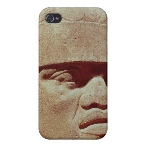 Cabeza colosal, Olmec iPhone 4 Funda